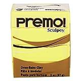 Premo Sculpey Polymer Clay 2 Ounces-Sunshine