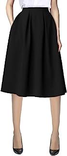 دامن جیب پیراهن بلند کمر بلند و بلند جیب پیراهن زنانه شهری CoCo