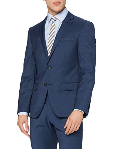 Daniel Hechter Herren Jacket NOS New Anzugjacke, Blau (Dark Blue 670), 54