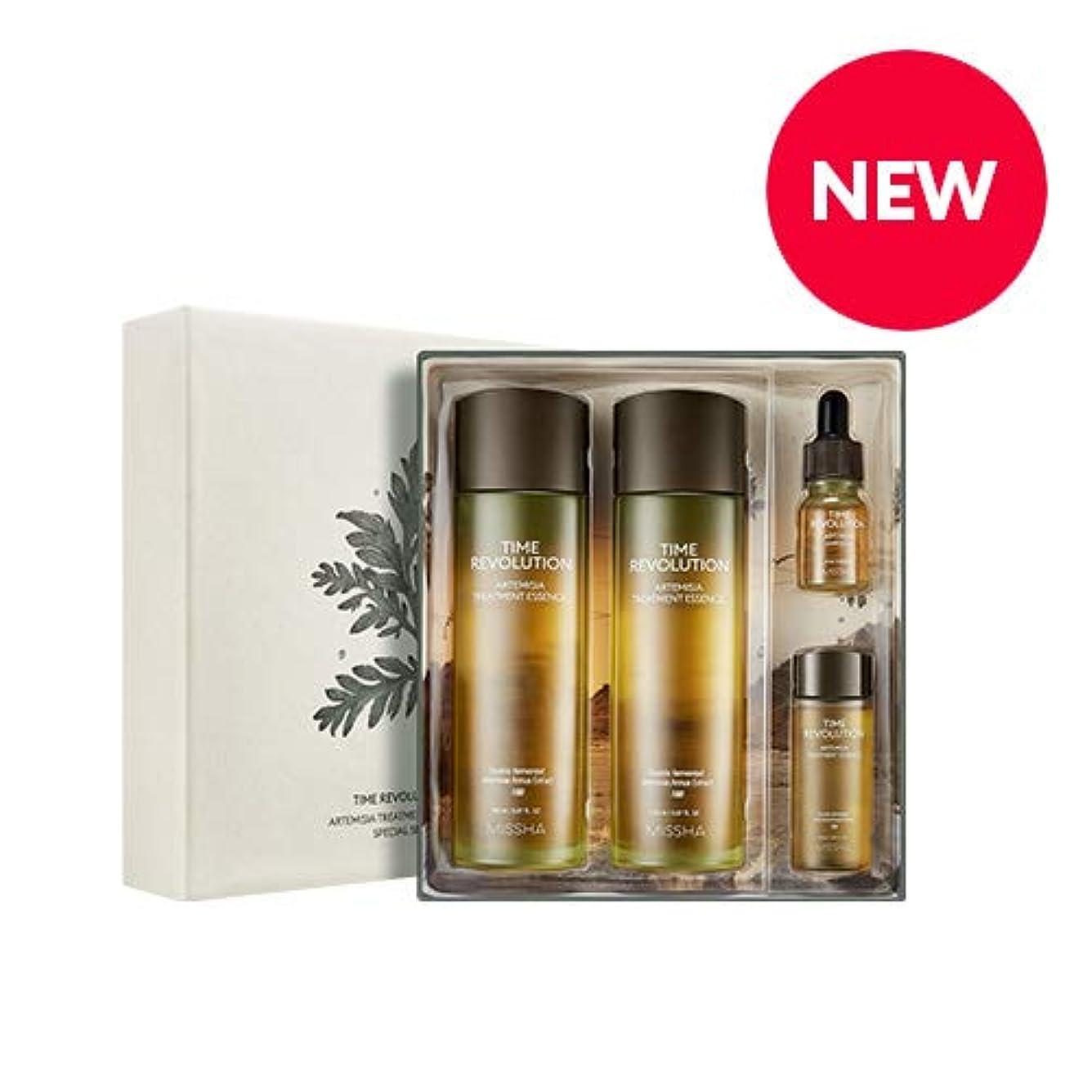 舞い上がる特異性取得MISSHA タイムレボリューションアルテミシアトリートメントエッセンススペシャルセット/Time Revolution Artemisia Treatment Essence Special Set [並行輸入品]