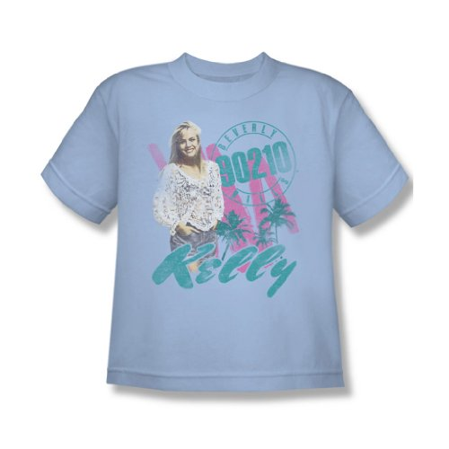 90210 - - Kelly Vintage T-shirt de la jeunesse, Large, Light Blue