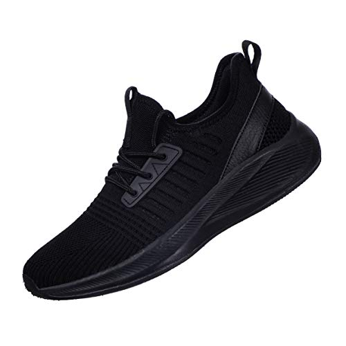 SDolphin Women Sneakers Walking Shoes Lightweight Comfortable Casual Road Running Shoes Black