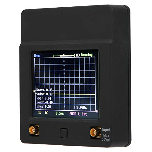 Pocket Oscilloscope, 0~2MHz Analog Bandwidth Digital Oscilloscope DSO112A for Office Supplies for Industrial Supplies