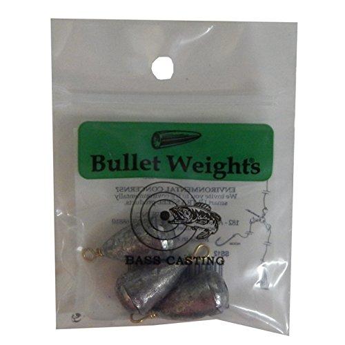 Bullet Weight SS4 4-Ounce Bass Casting Sinker, Nickel Finish