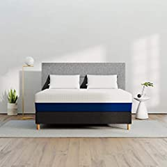 MEDIUM FEEL FOR EVERY SLEEPER: Medium foam mattress evenly blends support and softness to accommodate sleepers who change positions during the night ECO-FRIENDLY DESIGN KEEPS YOU COOL: Environmentally-friendly, plant-based memory foam features an ope...