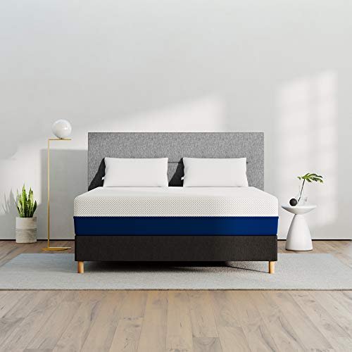 Amerisleep AS3 Memory Foam Mattress - Queen (Medium - Most Popular) - Bed in a Box | Celliant Cover | Bio-Pur Plant Based Material | Cooler Than Memory Foam | USA