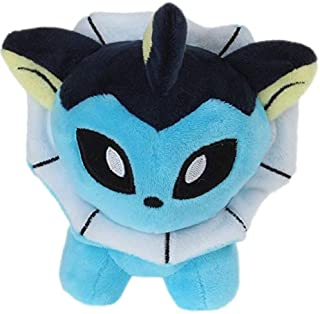 MANGMOC 8 Styles Espeon Flareon Glaceon Leafeon Soft Stuffed Dolls Cartoon Plush Toy Kids Gift Collection New Must Haves Friendship Gifts Favourite Movie Superhero Birthday UNbox Yourself