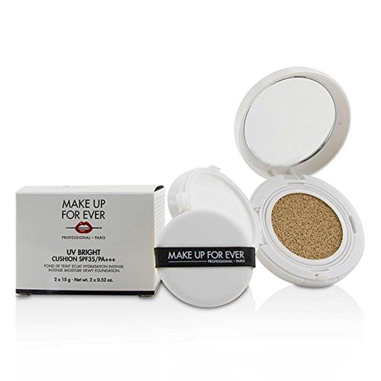 推測する薬顔料メイクアップフォーエバー UV Bright Cushion SPF35/PA+++ - # Y245 Soft Sand 2x15g/0.52oz並行輸入品