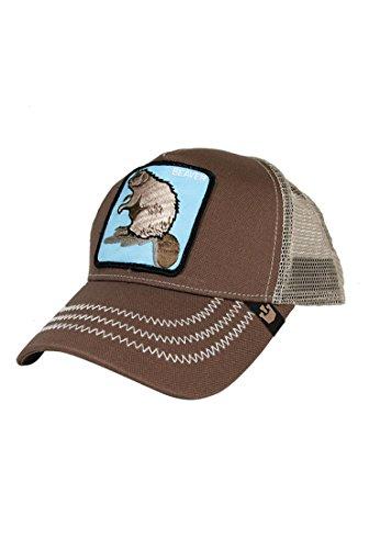 Goorin Bros. Trucker Beaver - Gorra, color marrón