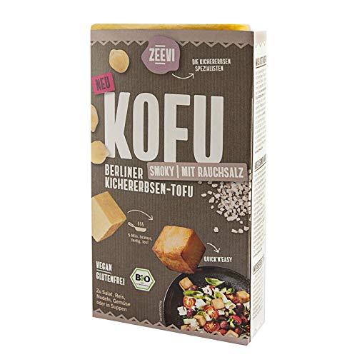 Zeevi Kofu Smoky Kichererbsentofu 200g bio vegan tofu