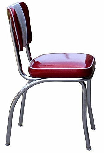 Richardson Seating Retro V-Back Diner Chair with 2