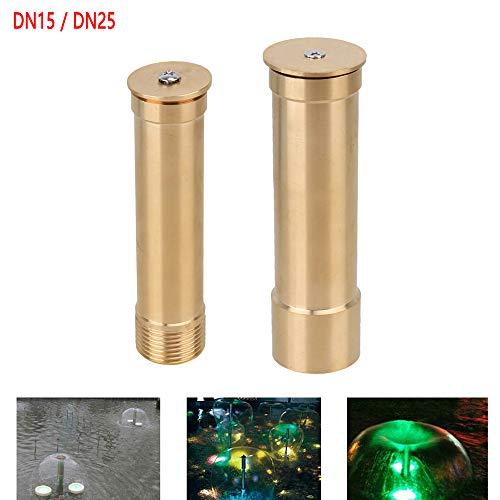 TF 1Pc DN15/DN25 Boquillas de latón para fuente de agua hemisferio de cobre para piscina de agua
