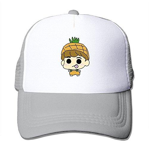 Custom Made Adult Unisex Pineapple 100% Nylon Mesh Caps One Size Fits Most Adjustable Baseball Cap