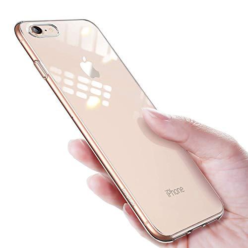 innislink iPhone SE 2020 Hülle, iPhone 8/7 Hülle, Crystal Clear iPhone 7/8 Handyhülle Schutzhülle Durchsichtig Bumper Case Cover Schutz Tasche Schale für Apple iPhone SE 2020/8/7 4.7''- Transparent