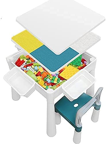 Xuteeya Kids Max 80% OFF Max 81% OFF Multi Activity Blocks Table Set a Chair and with 20