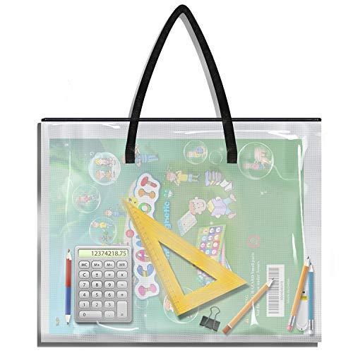 "Bulletin Board Art Storage Chart Bag Portfolio Case for Poster & Art (25"" x 20"") Photo #5"