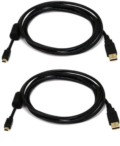 Active Pro – Extra Lang Vergoldet USB Play und Charge Kabel für Sony Playstation 3/ PS3 Controller - Länge = 3m / 9.8 Ft - AAA Products®