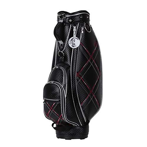 WXYXG Golf Damen Golftasche, Komplette Golftasche, 100% Wasserdicht (Color : Black)