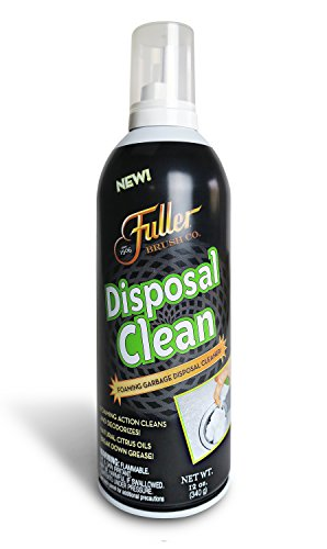 Fuller Brush Garbage Disposal Cleaner - Sink Disposer Disinfectant & Deodorizer - Cleans Food Waste & Grease for Fresh Kitchen Odor & Clean Kitchen Drain