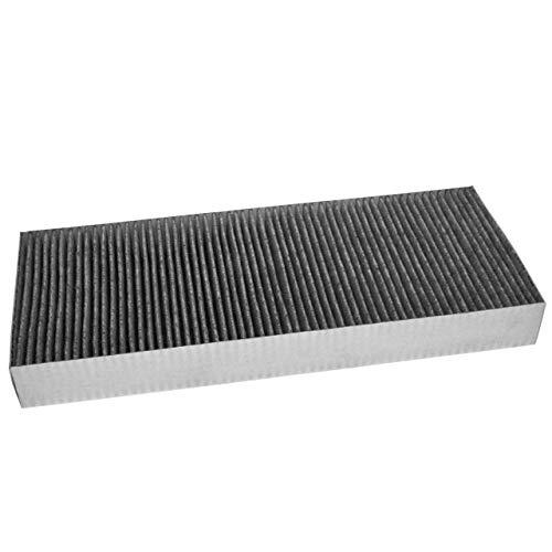 vhbw Filter Aktivkohlefilter Ersatz für Bosch 11018621, DSZ4681 für Dunstabzugshaube; Kohlefasern