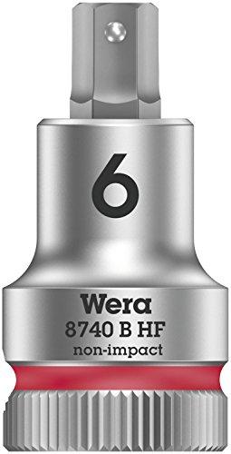 Wera 05003035001 8740 B HF Zyklop vaso de punta hexagonal con arrastre...