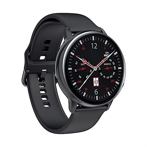 Smart Watch Full Touch AMOLED AMOLED 390 * 390 HD Pantalla HD SmartWatch Mujeres Hombres Hombres inalámbricos Carga IP68 IP68 Ritmo al corazón a Prueba de Agua Reloj Inteligente