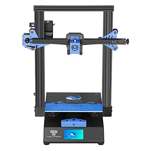 OUYANG Twotrees Impresora 3D Bluer V2 con Extrusor de Doble Rueda de Extrusión y con Reanudar la Función de Impresión Impresora 3D FDM 235 x 235 x 280mm