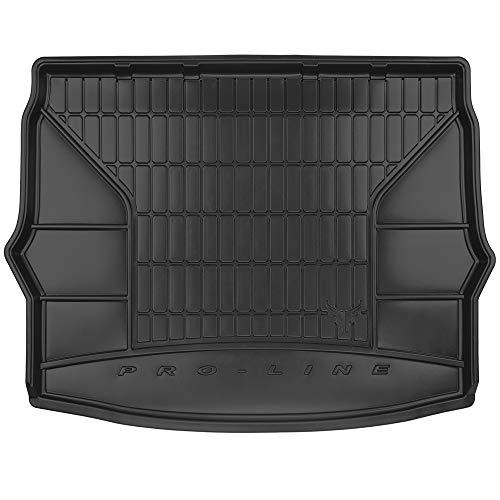 DBS Tapis de Coffre Auto - sur Mesure - Bac de Coffre pour Voiture - Rebords Surélevés - Caoutchouc Haute qualité - Antidérapant - Simple d'entretien - 1766568