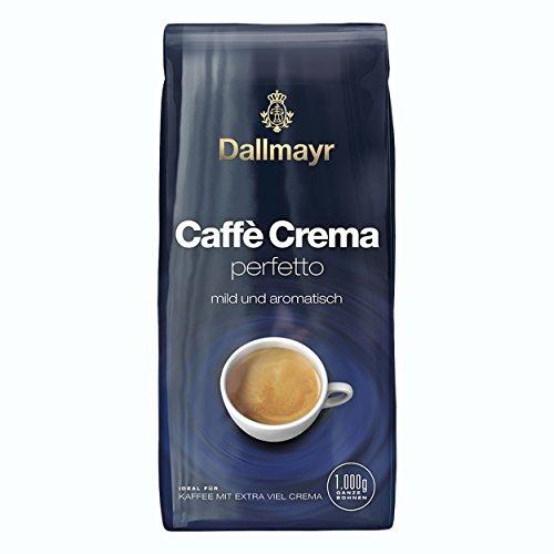 Dallmayr Caffé Crema perfetto, Bohnenkaffee, Röstkaffee, Kaffee, Kaffeebohnen, 8 x 1000 g