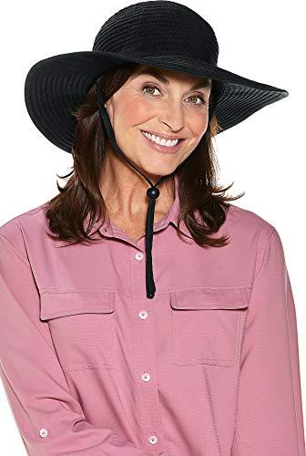 Cooli Chapeau Bar Femme Protection UV 50 +, 02252–001 Noir Noir Taille Unique