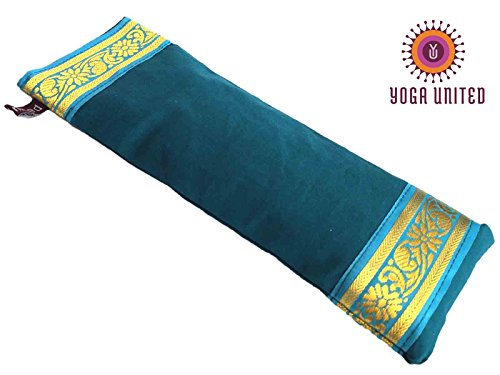 Yoga United - Almohada para Ojos, Color Verde
