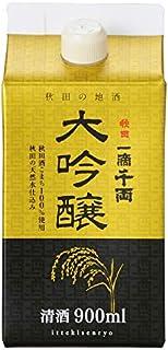 秋田県醗酵工業 一滴千両大吟醸パック [ 日本酒 秋田県 900ml ]