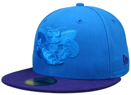 New Era New Orleans Hornets Team pop tonal - Gorra (talla 7, incluye bandana original)