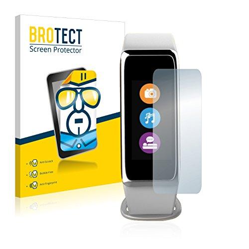 BROTECT Schutzfolie kompatibel mit MyKronoz ZeFit 3 HR (2 Stück) klare Bildschirmschutz-Folie