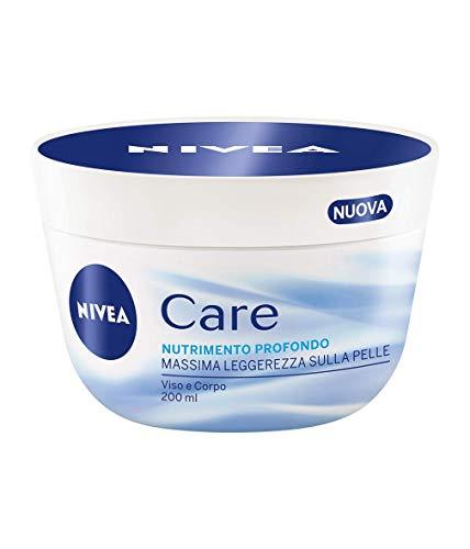 Nivea Care NutriMento Profondo, Crema Idratante Viso e Corpo, 200 ml