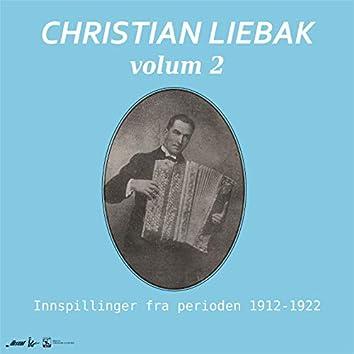 Christian Liebak, trekkspill, Vol. 2. Innspillinger fra perioden 1912-1922.