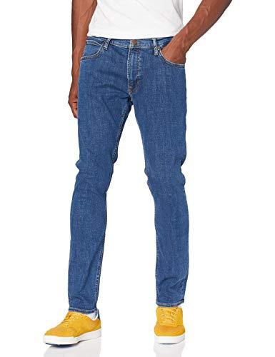 Lee Luke M Jeans, Mid Stone Wash, 33W / 30L Uomo