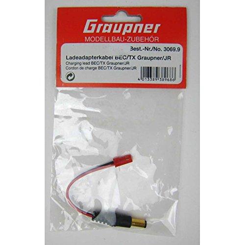 Graupner - 3069.9 ladeadapterkabel bEC graupner jR/tX