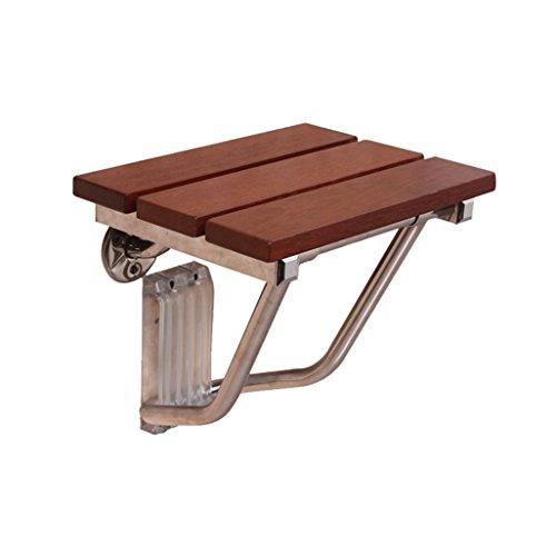 BTPDIAN massief houten plank vouwstoel wandstoel badkamer badkamer oude man douche kruk