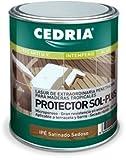 Lasur protector madera Cedria Protector Sol Plus Ipe 20 litros