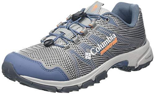 Columbia Mountain Masochist IV, Zapatillas de Trail Running para Mujer, Gris (Slate Grey, Jupiter), 39 EU