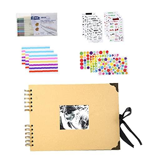 Ohomr Conjuntos de álbumes, 28 Conjuntos de páginas álbum de Fotos, DIY...