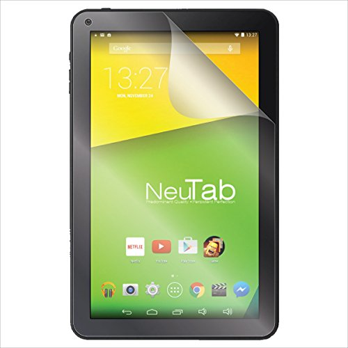 (2-Pack) S Shields Screen Protector for iRulu eXpro X1C / X1S 10.1' Tablet (Ultra Clear)