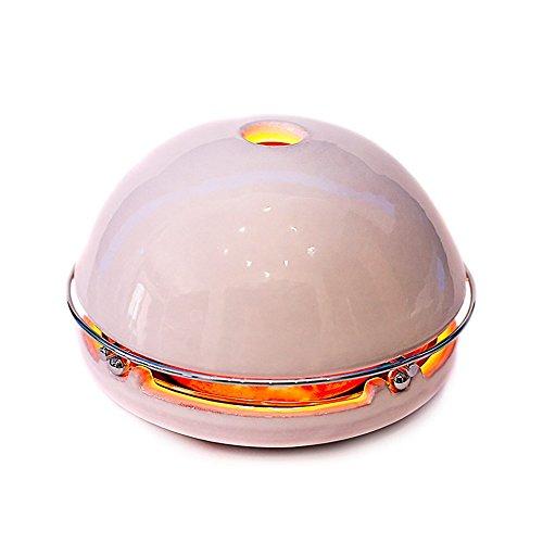 Egloo Multifunctionele verwarming en verwarming voor etherische oliën en luchtbevochtiger en verdamper, kaarslamp, wit