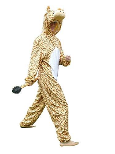 Giraffen-Kostüm, J24 Gr. M-L, Giraffe Karnevalskostüm für Männer und Frauen, Giraffen-Kostüme für Fasching Karneval, als Karnevals- Fasnachts-Kostüm, Tier-Kostüme Faschings-Kostüme Erwachsene