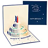 3D Pop-up Birthday Card, Pop UP Greeting Cards, Fantastic Flower Gift Card for Valentine's Day Birthday Anniversary Invitation Wedding Love Gifts