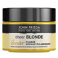 Renforce les mèches fragiles. Booste la brillance. Pour un blond étincelant et ensoleillé. Package dimensions (H x L x W 7.5 centimeters x 9.0 centimeters x 9.0 centimeters