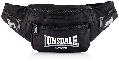 Lonsdale Hip Bumbag Hüfttasche Bauchtasche Gürteltasche für Damen und Herren