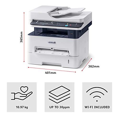 Xerox B205NI S/W-Multifunktionsimpresora láser Scanner copiadora LAN WiFi