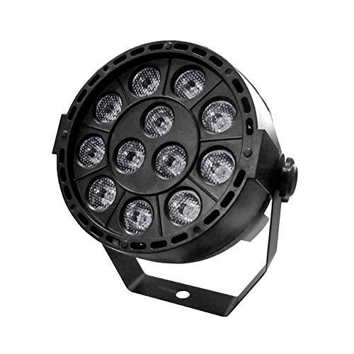 Lixada 12 LEDs UV PAR Lichtdesinfectie-Stabilisatie-UV-lamp voor Stage Disco Bar